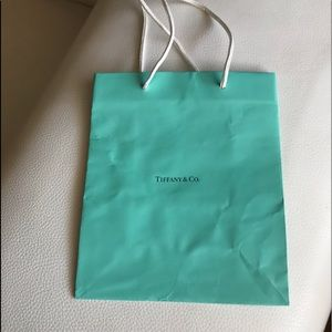 "TIFFANY  &Co  Small Paper Bag 8""/ 9 3/4"""